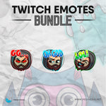 Hood Man - Twitch Emotes Bundle