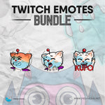 Kupo - Twitch Emotes Bundle