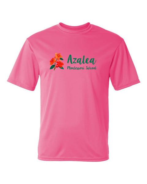 Azalea Montessori Full Color Logo Shirt - Youth