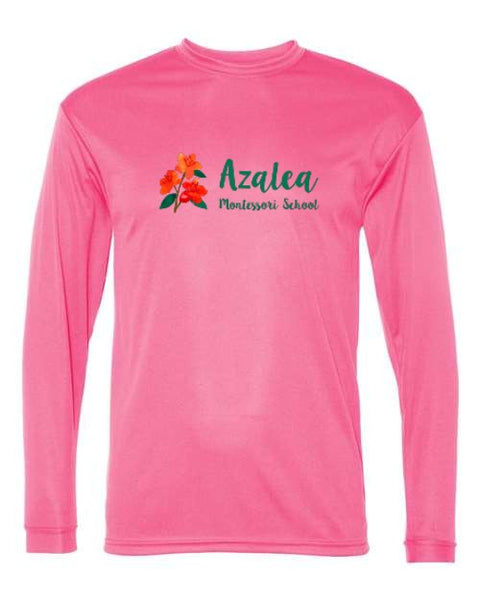 Azalea Montessori Full Color Logo Long Sleeve Shirt