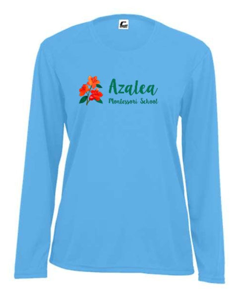 Azalea Montessori Full Color Logo Women's Long Sleeve Shirt