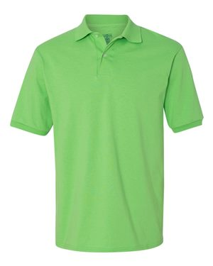 JERZEES Embroidered SpotShield™ 50/50 Sport Shirt Polo Plus Sizes