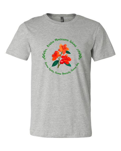 Azalea Montessori Full Color Logo Shirt - Circle Logo