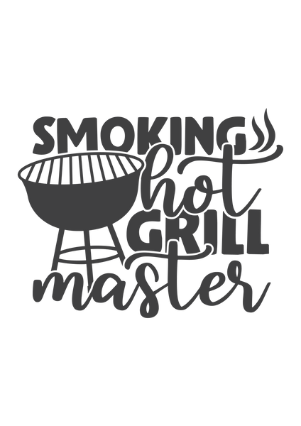 Smoking hot grill master