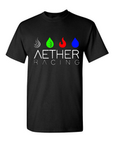 Aether Racing short sleeve t-shirt - black