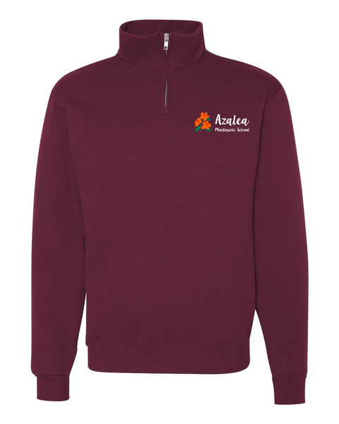 Azalea Montessori Embroidered Quarter Zip