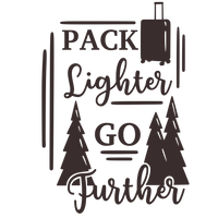 Pack lighter, go further