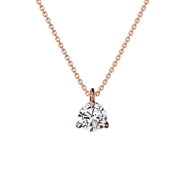 Collier diamant 0.30 ct or éthique Eva