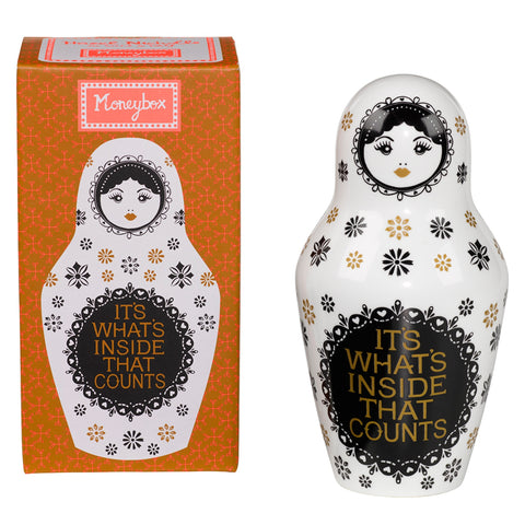 Nesting Doll Coin Bank - Boyar Gifts NYC