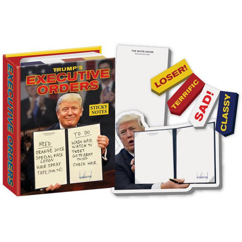 Trumps Executive Orders Notes - Boyar Gifts NYC