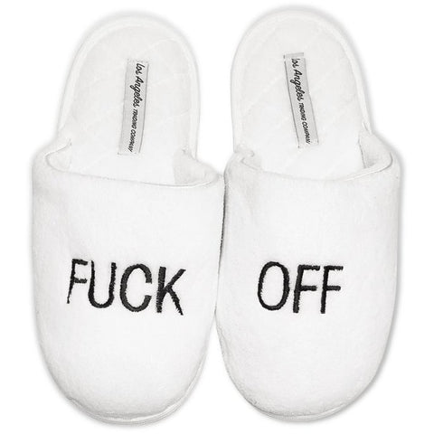 Fuck Off Slippers - Boyar Gifts NYC