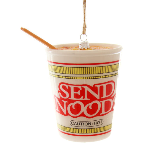 Send Noods Ornament - Boyar Gifts NYC