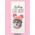 Load image into Gallery viewer, Fucking Cat Lady Dishtowel