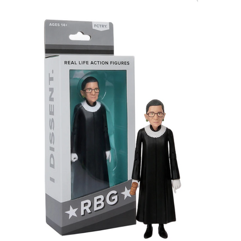 Ruth Bader Ginsburg Real Action Figures - Boyar Gifts NYC