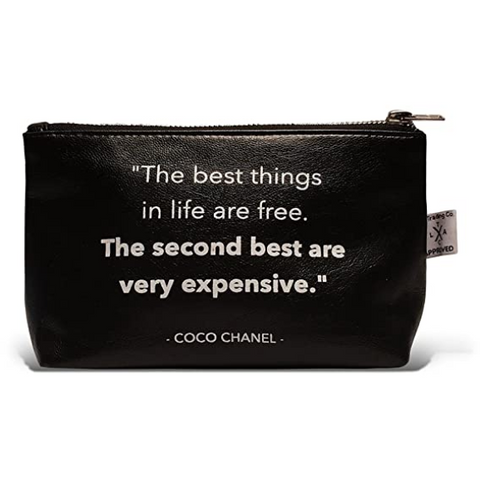 The Best Things In Life Pouch - Boyar Gifts NYC