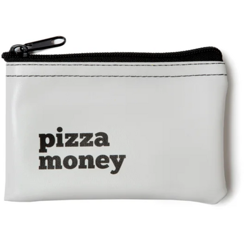 Pizza Money Zip Small Pouch - Boyar Gifts NYC