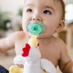 Paci Plushes Chicky Chicken - Boyar Gifts NYC