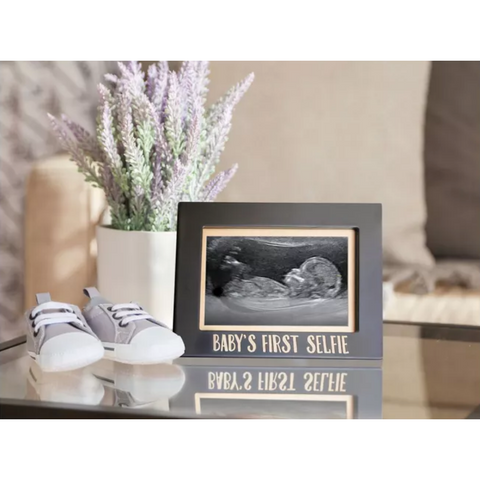 Sonogram Frame First Selfie - Boyar Gifts NYC