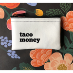 Load image into Gallery viewer, Taco Money Zip Pouch