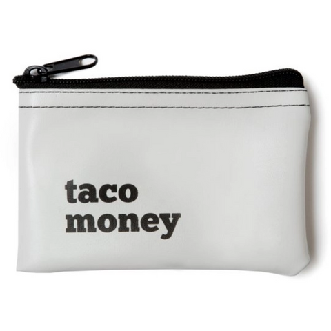 Taco Money Zip Pouch - Boyar Gifts NYC