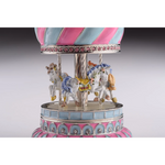 Load image into Gallery viewer, Pink Carousel Music Box