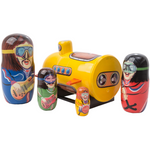 Load image into Gallery viewer, Yellow Submarine Nesting Doll