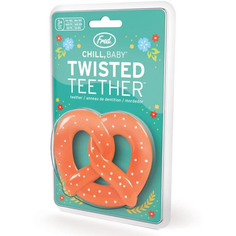 Pretzel Twister Teether - Boyar Gifts NYC