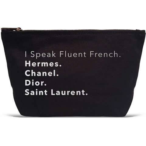 I Speak Fluent French Pouch - Boyar Gifts NYC