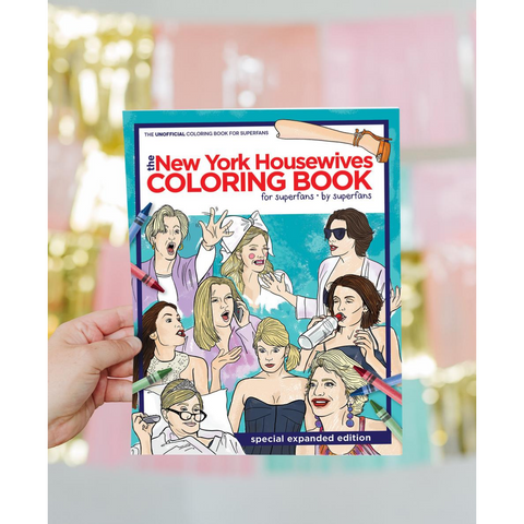New York Housewives Coloring Book - Boyar Gifts NYC