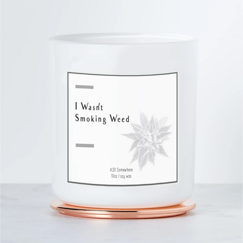 I Wasnt Smoking Candle - Boyar Gifts NYC