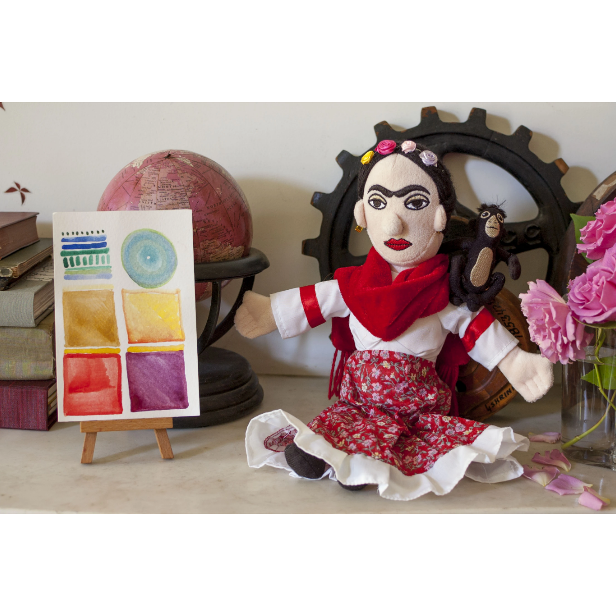 Little Thinkers Frida Doll - Boyar Gifts NYC