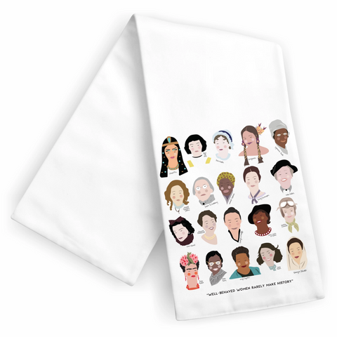 Women Of History Dish Towel - Boyar Gifts NYC