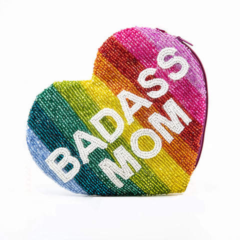 Tiana Badass Mom Rainbow Heart - Boyar Gifts NYC