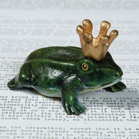 Prince Charming Frog Bottle Opener - Boyar Gifts NYC
