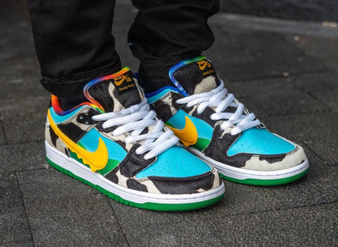 ben and jerrys nike sb dunk low