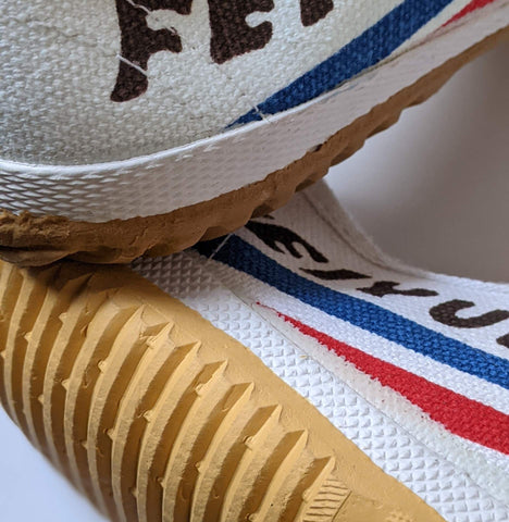 Fake, counterfeits of feiyue trainer shoes