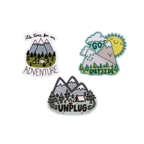 Adventure Sticker Set - mysuds2go