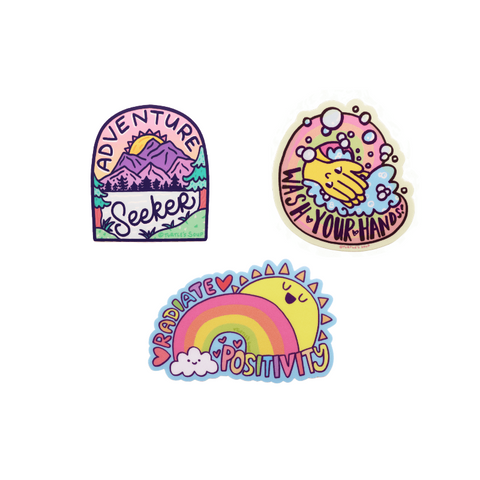 Rainbow Sticker Set - mysuds2go