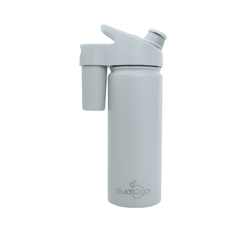 Grey Suds2go Bottle