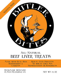 Locally Sourced Grass-Fed Beef Liver Dog Treats