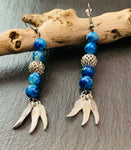 World beads and feathers