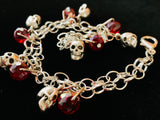 Skull and Red Crystals