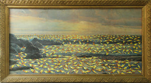 BVR ART Chicken of the Sea redirected painting by Ange Beever - print