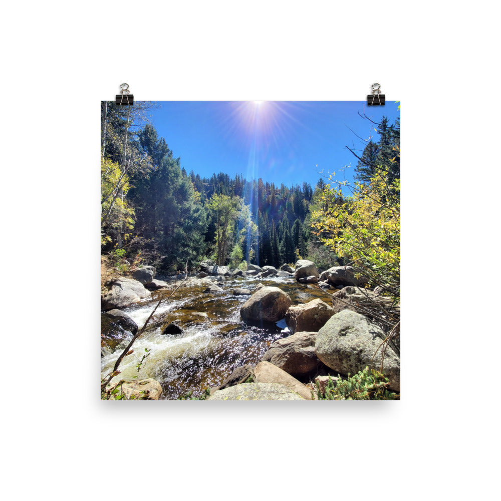Fish Creek Falls Poster