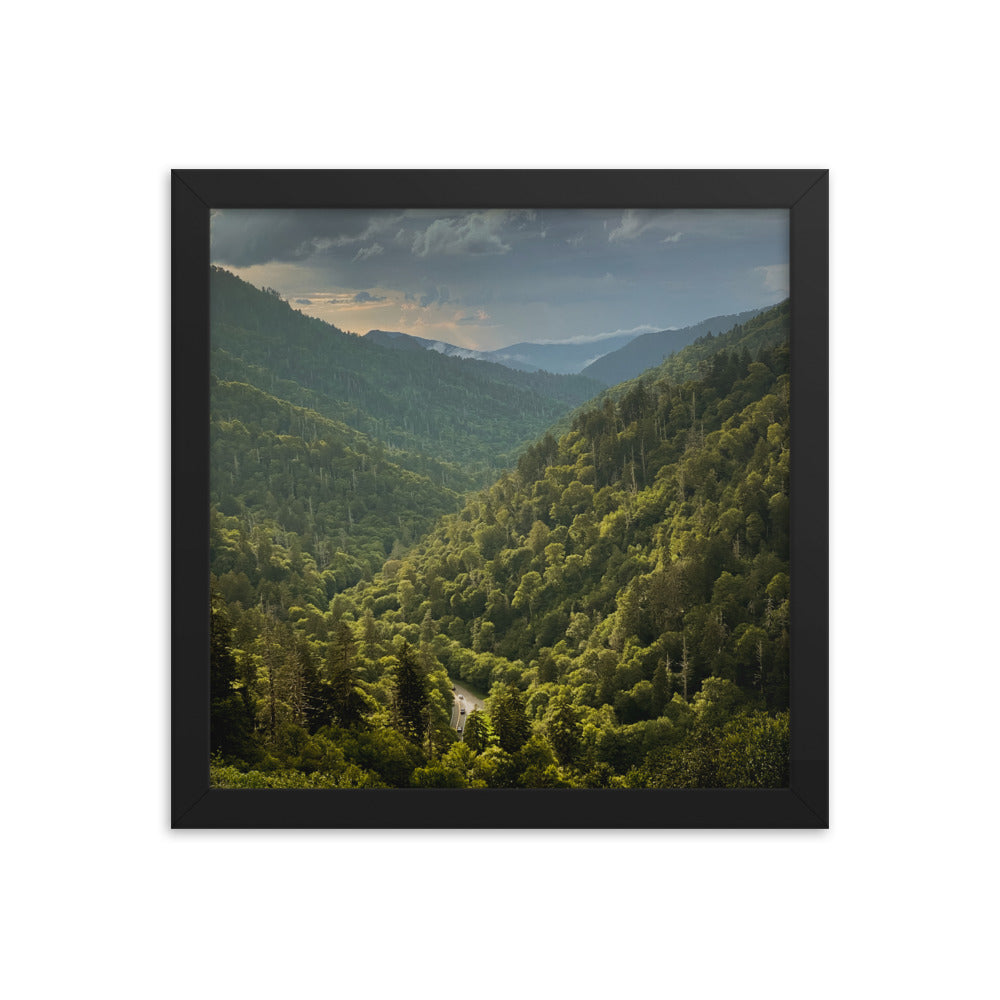 Great Smoky Mountains Framed Poster