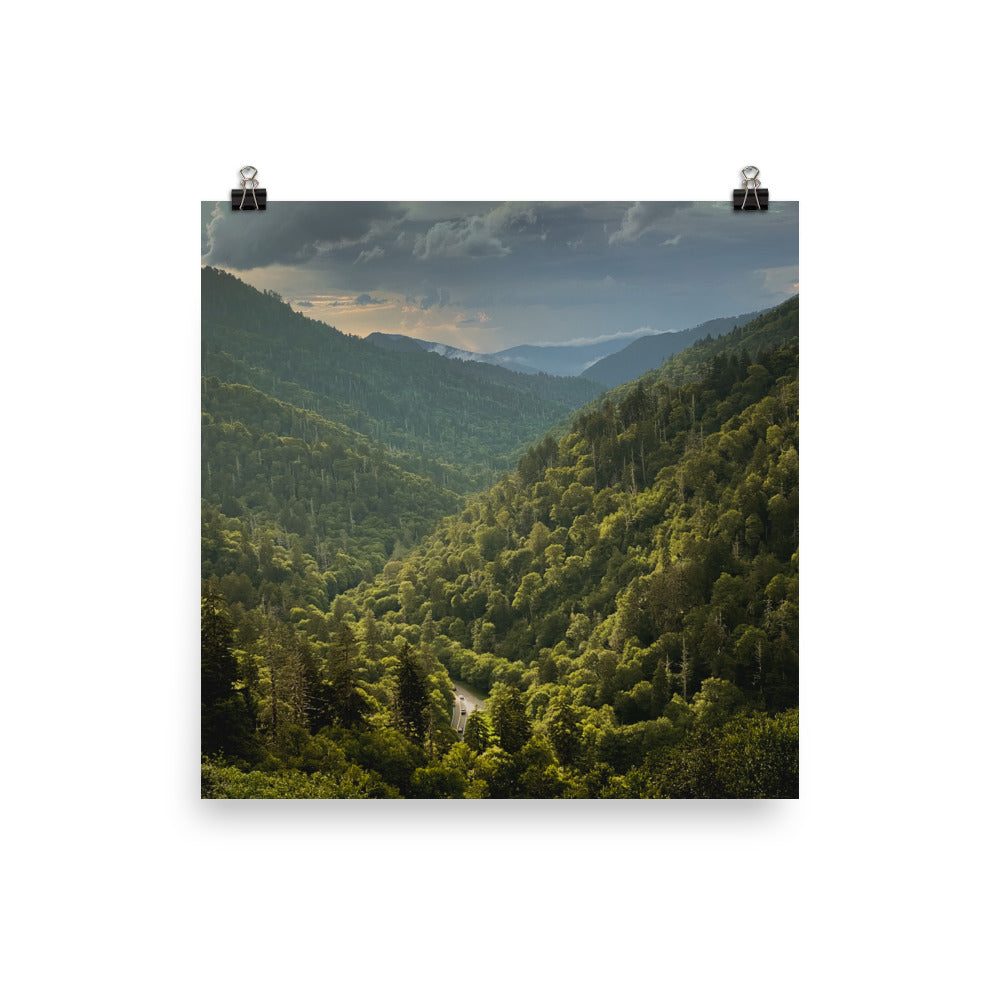Great Smoky Mountains Poster