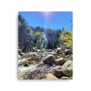 Fish Creek Falls Canvas