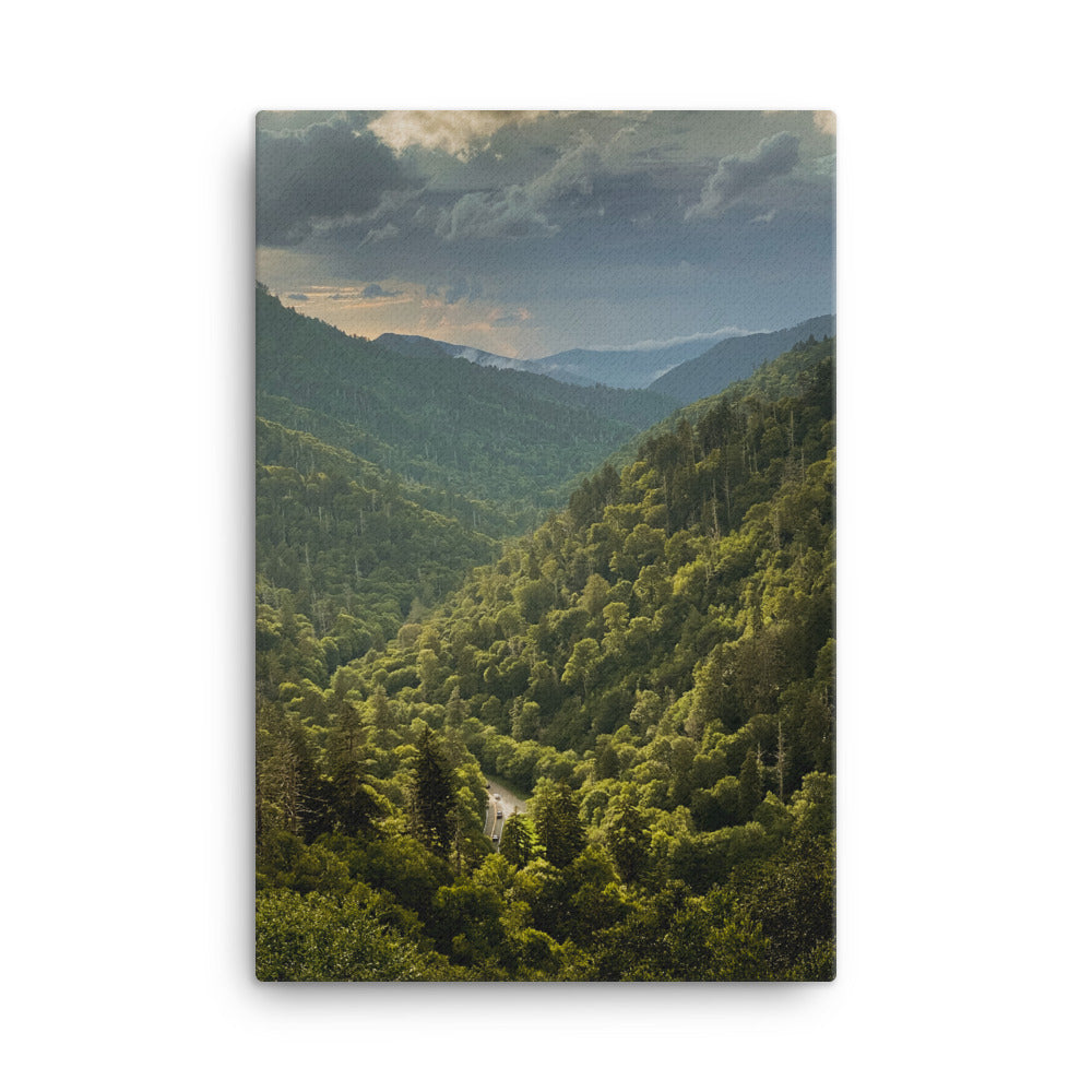 Great Smoky Mountains Canvas