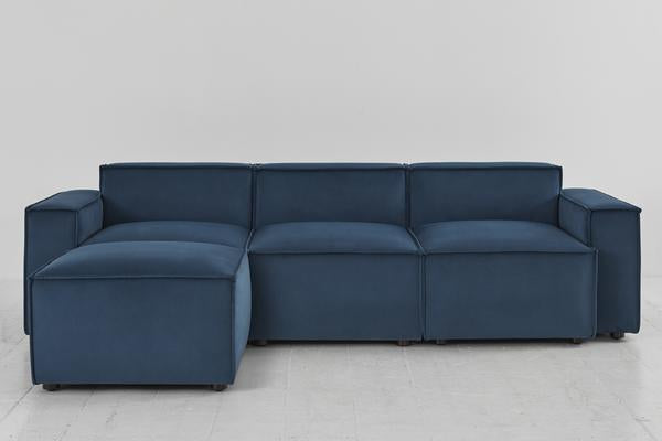 MODEL 03 SWYFT SOFA - 3 SEATER LEFT CHAISE