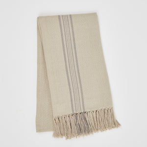 Weaver Green | Antibes Grey Throw